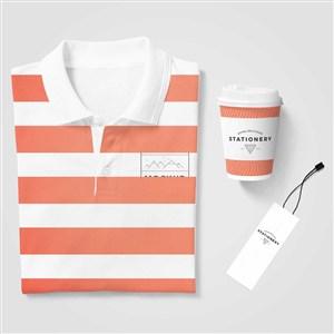 服装品牌VI物料样机贴图
