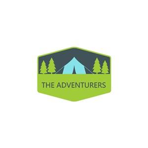 帐篷树logo素材
