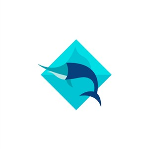 魚logo素材