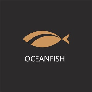 鱼logo素材