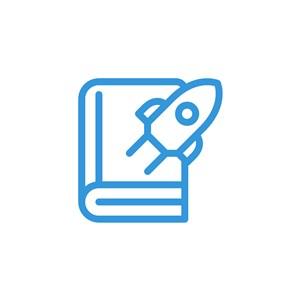 書火箭logo素材