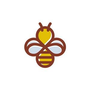 蜜蜂logo素材