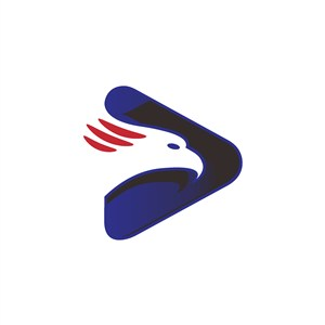 鹰几何图案logo素材