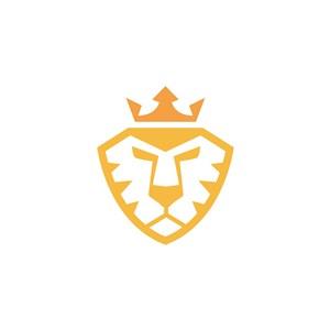 獅子皇冠logo素材