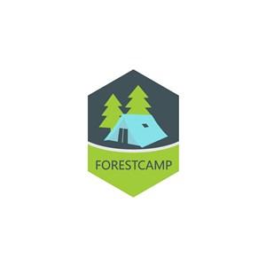 帳篷樹logo素材