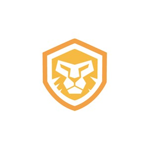 狮子盾牌logo素材