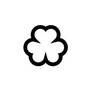 爱心花朵logo素材