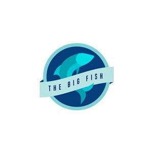海鮮餐廳魚logo設計素材