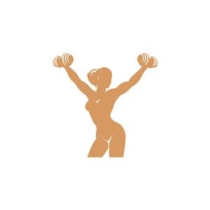 健身房logo素材