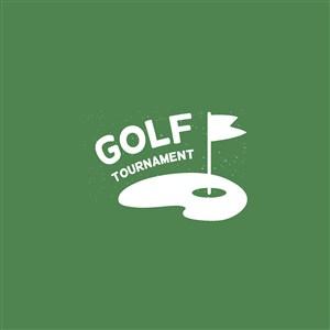 高爾夫俱樂部logo素材