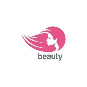 美容美發矢量logo標志