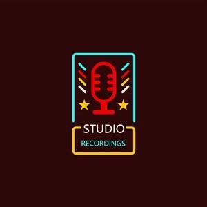錄音室攝影棚logo素材