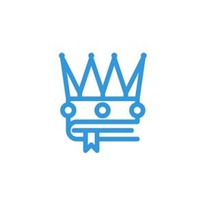 書皇冠logo素材