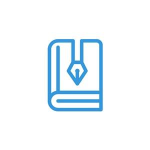 书笔logo素材