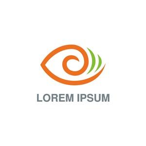 眼字母logo素材