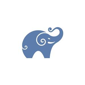 大象logo素材