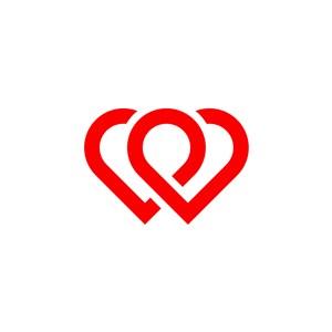 爱心logo素材