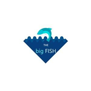 鱼水logo素材