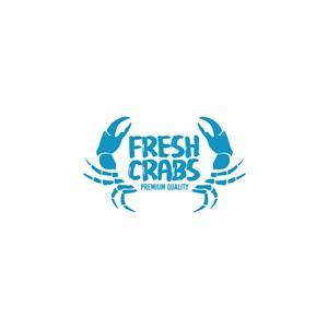 蟹字母logo素材