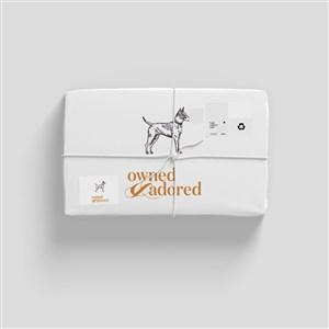 宠物店纸质包装样机