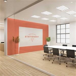 公司会议室商业场景样机