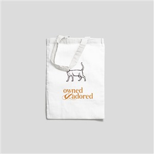 寵物店手提袋樣機貼圖