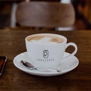 时尚咖啡杯样机