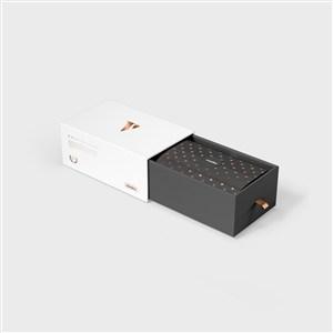 精品抽拉包裝禮盒樣機