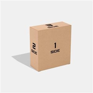 產品牛皮紙外包裝樣機