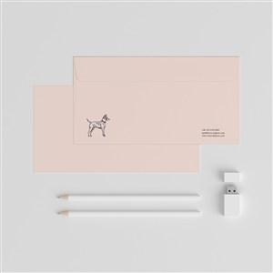 公司簡潔紙張樣機模板