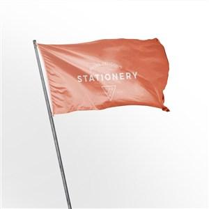 飘扬的旗帜样机