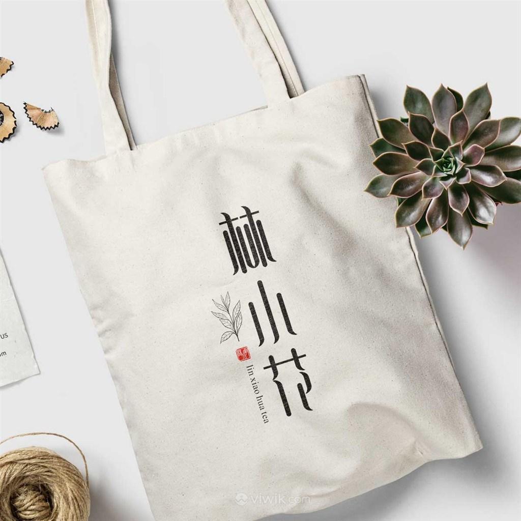 茶葉品牌手提袋樣機