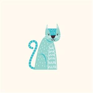 猫logo素材
