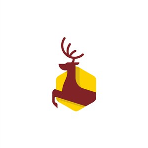 鹿logo素材