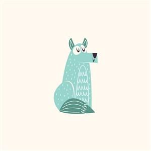 狗logo素材