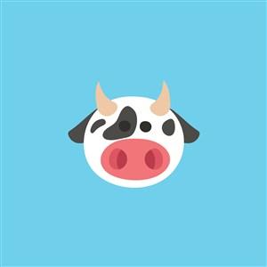 奶牛logo素材