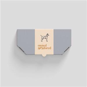 宠物店产品包装样机贴图