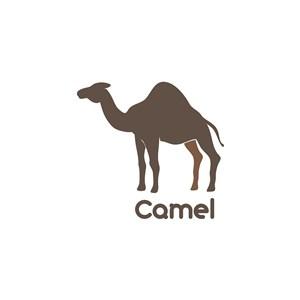 駱駝logo素材