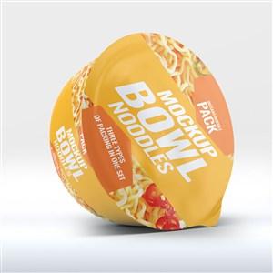 泡面包装样机