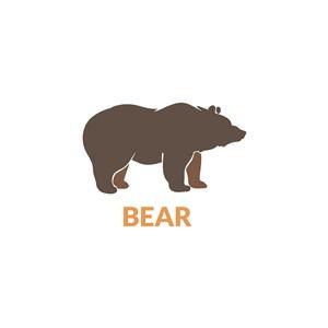 熊logo素材