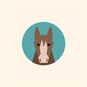 馬logo素材