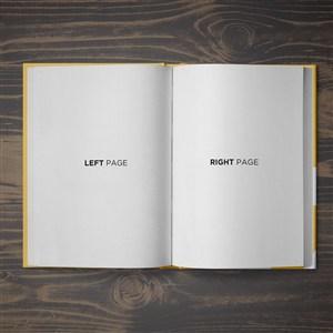 画册书籍贴图样机