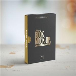 書籍封面貼圖樣機