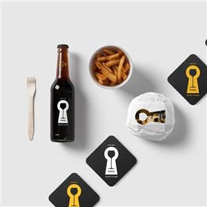 餐厅食品包装样机
