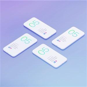 苹果手机UI样机