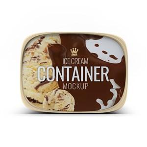 冰淇凌包装设计样机