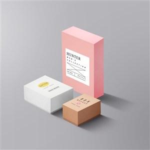 化妆品包装盒样机
