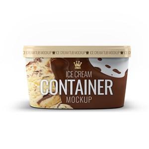 冰淇淋包装样机