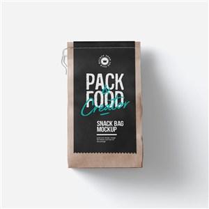 牛皮纸食品包装样机模板