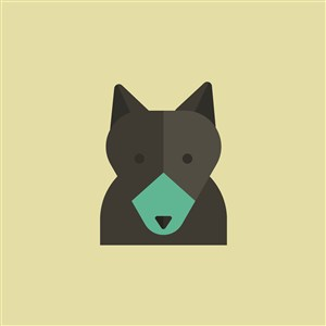 設計傳媒矢量標志動物矢量圖標